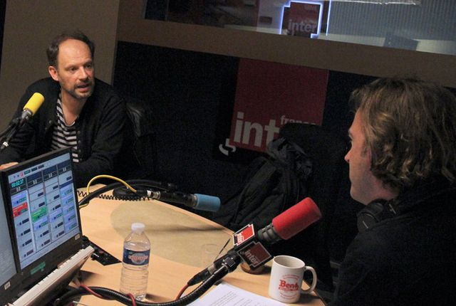 Denis Podalydes et François Busnel