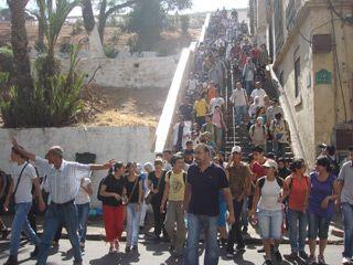 Descente vers le vieil Oran juillet 2009.jpg