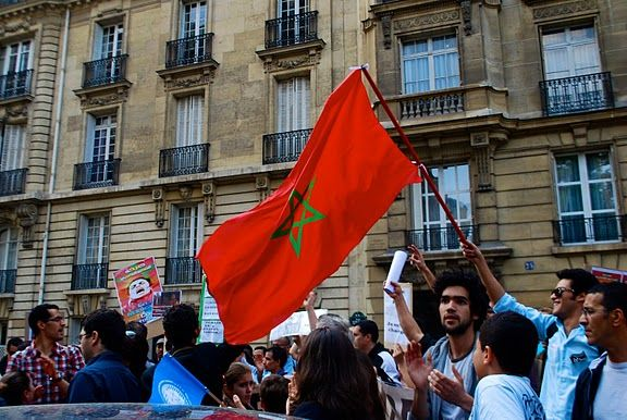Le Mouvement du 20-Février, au Maroc