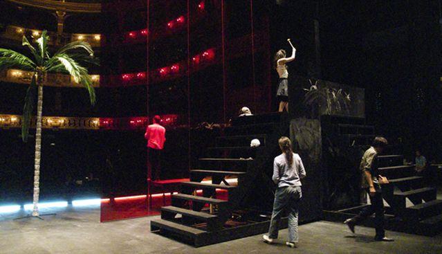 Répétition Roméo et Juliette de William Shakespeare