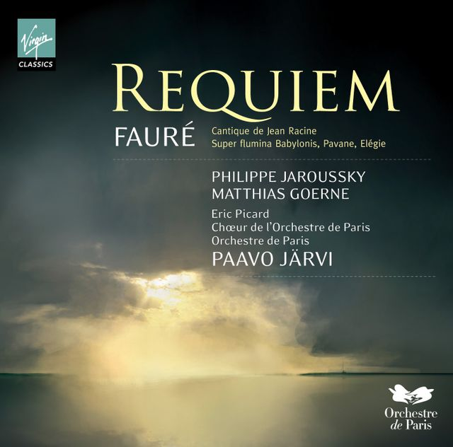 Requiem de Fauré direction Paavo Järvi - CD Virgin Classics