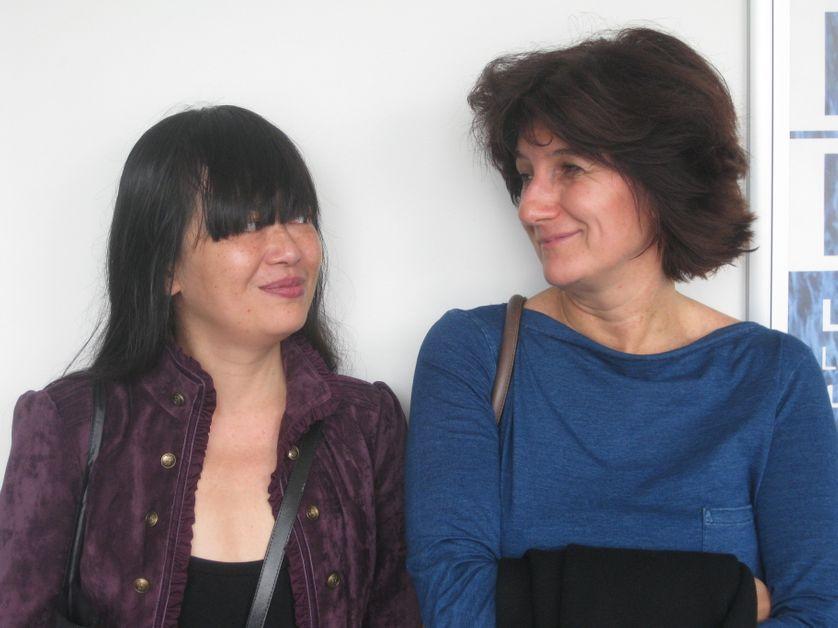 Linda Lê et Sophie Fontanel