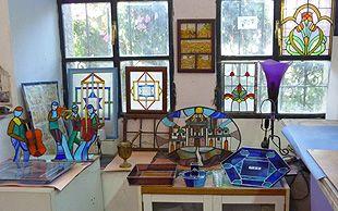 Le quartier très central de Nahlaot avec ses artisans et ses artistes.