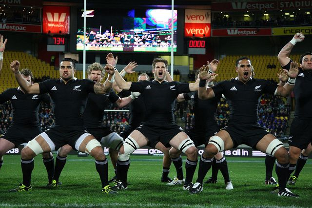 Haka, All Blacks