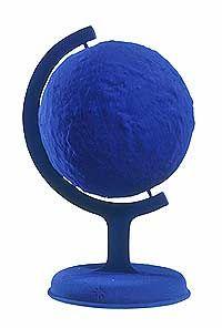 Globe terrestre bleu, Yves Klein