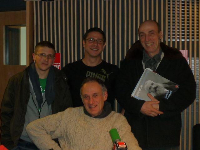 Justin et Vincent Badeau, Etienne Dambrine et Denis Cheissoux