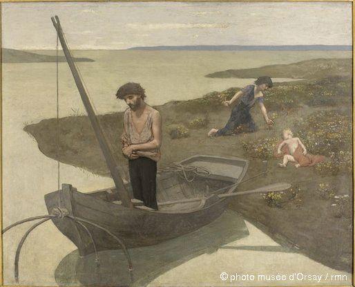 Le pauvre pêcheur - Pierre Puvis de Chavannes