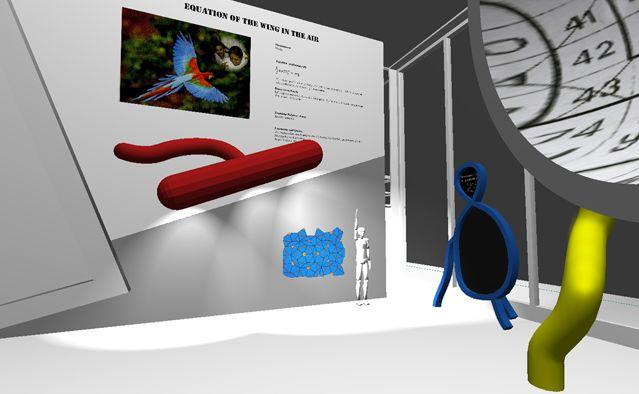 David Lynch, projet de scénographie pour l'exposition - Direction artistique : David Lynch, animation : John Chalfant