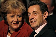 A. Merkel et N. Sarkozy, 45th Munich Security Conference 2009