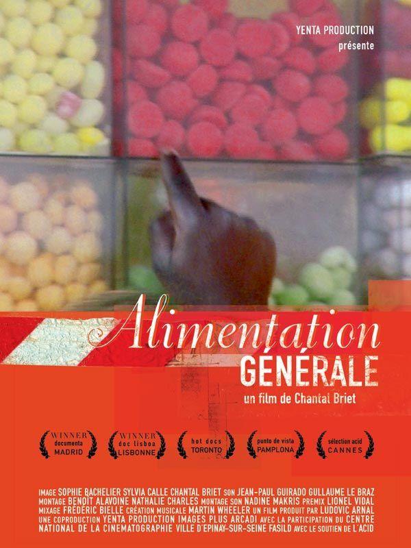 Affiche Alimentation Générale
