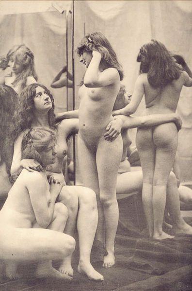Le nu esthétique. Emile Bayard