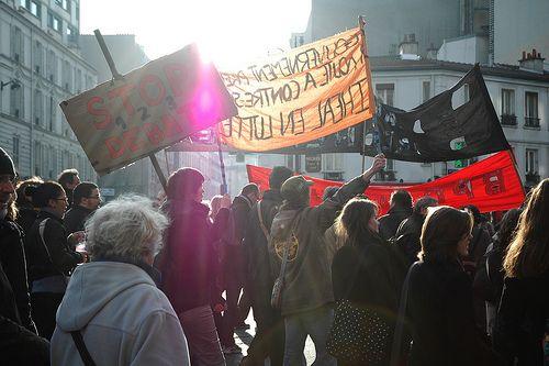 Manifestation réforme université