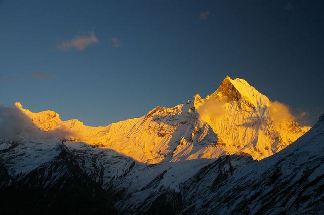 Machapuchare from Annapurna Sanctuary