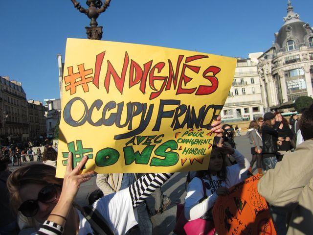 Indignés Paris