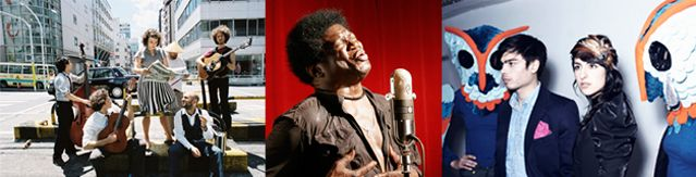 Moriarty - Charles Bradley - Lilly Wood & The Prick