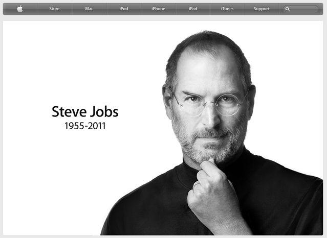 La page d'accueil du site d'Apple ce matin...