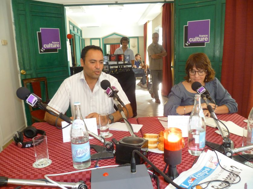 Karim Bensmaîl et Azza Filali