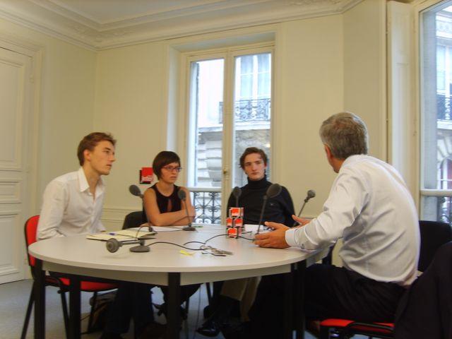 Lili, Martin, Charles et Hervé Morin