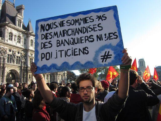 Indignés parisiens