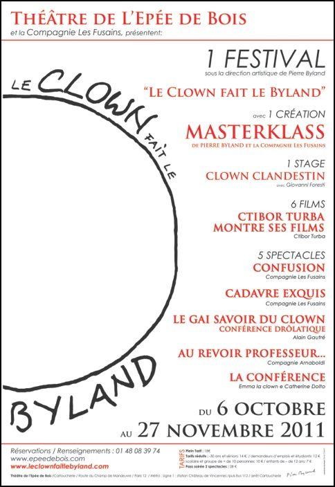 Le clown fait le Byland