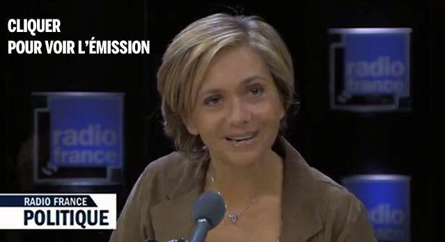 Valérie Pécresse à Radio France Politique avec L