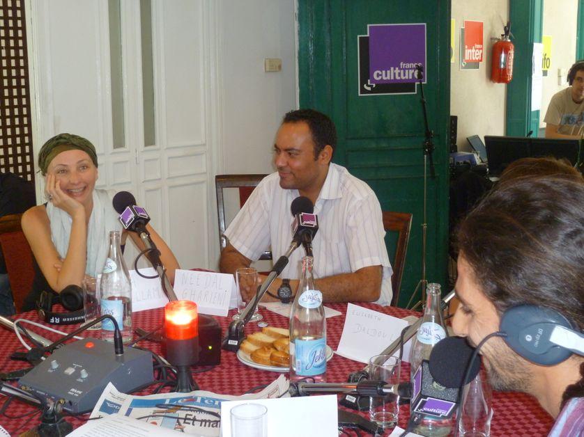Allia Selami, Karim Bensmaîl et Sofiane Ouissi