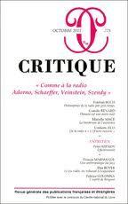 revue Critique