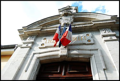 Facade du Lycée Berthollet d'Annecy