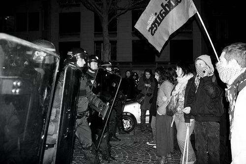 Manifestation en Grèce