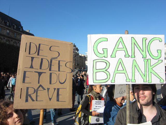 les indignés parisiens
