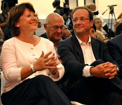 Martine Aubry, François Hollande
