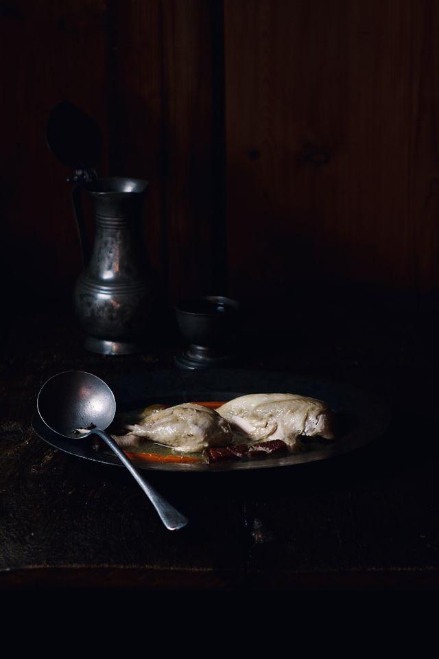 Bouillon et Poule au pot