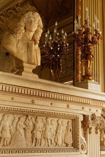 Buste de Molière par Houdon dans le foyer du public