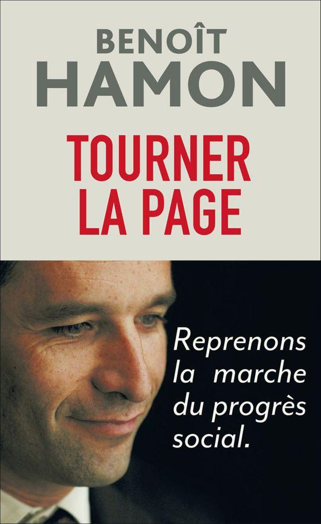 "Benoit Hamon ""Tourner la page"""