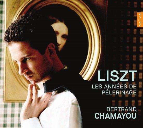 Bertrand Chamayou interprète les Années de Pèlerinage de Liszt (3 CD Naïve)