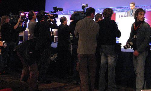 Nicolas Sarkozy et les médias