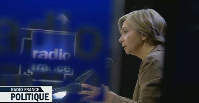 Valérie Pécresse à Radio France Politique