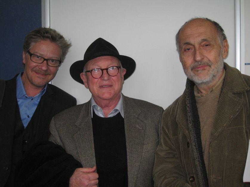 Sébastien Demorand, Fabrizio Beggiato et Amedeo Fago