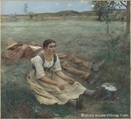 Les Foins de Jules Bastien-Lepage (1877)