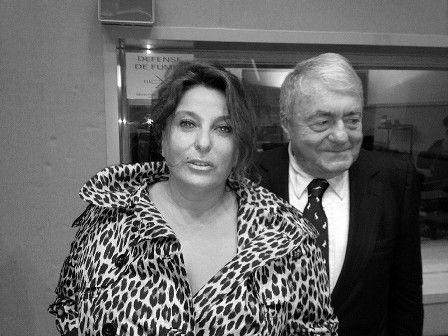 Claude Lanzmann et Valérie Solvit