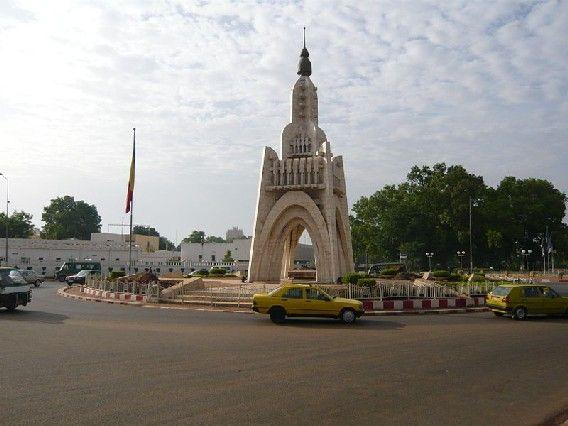 Monument de l'indépendance à Bamako
