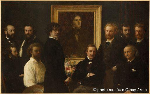 Hommage à Delacroix en 1864