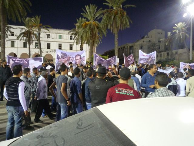 Manifestants de rue