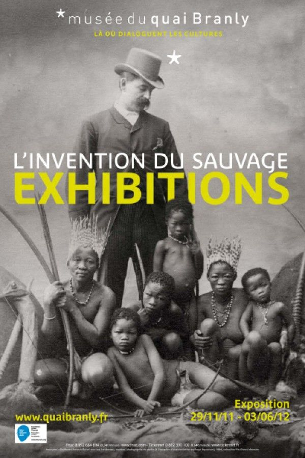 Pascal Blanchard EXHIBITIONS – l'invention du sauvage