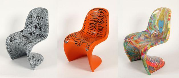 Les chaises Panton - Fabien Verschaere - Francoise Dorget - Ensaders