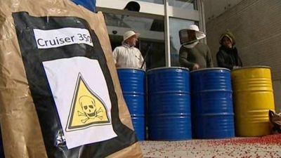 Agriculteurs en colère - Octobre 2011
