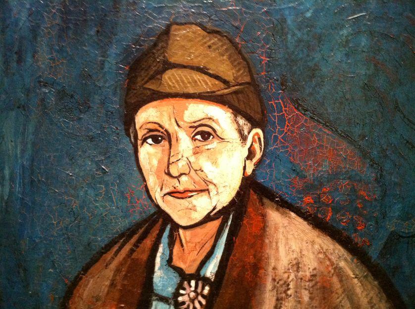 Gertrude Stein, par Francis Picabia. 1933