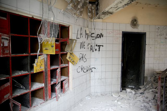 Ancien rendez-vous des dealers de la barre Balzac à La Courneuve