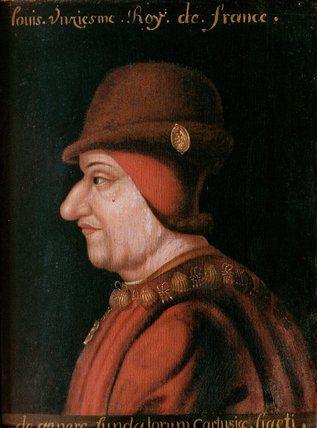 Louis XI, roi de France vers 1400