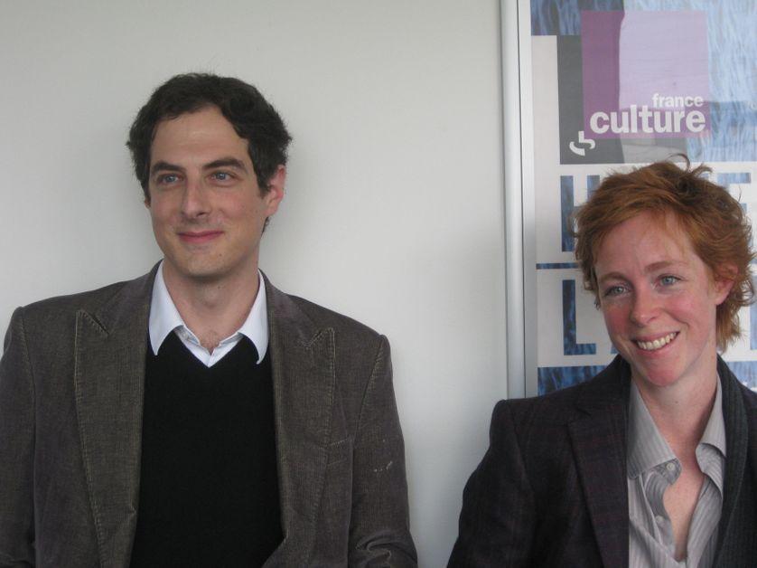 David Bessis et Clémence Gandillot